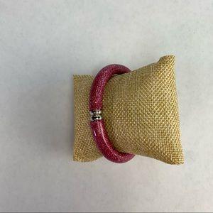 Erwin Pearl Stardust Magenta Bracelet